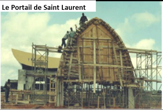 Portail Paroisse St Laurent Kouté