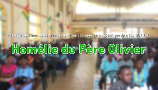 Homélie Père Olivier Nelle