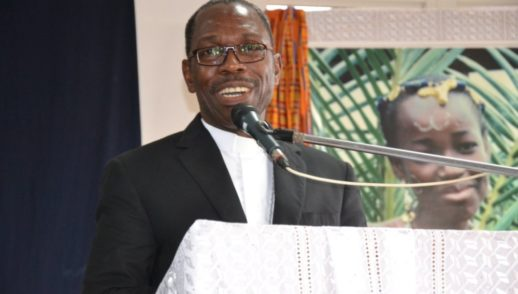 Mgr Jean Salomon Lezoutié