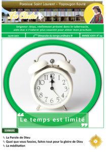 Cloche du Dimanche 24 01 21